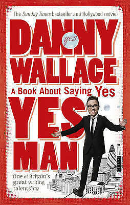 """1 of 1 - """"AS NEW"""" Wallace, Danny, Yes Man, Book"""