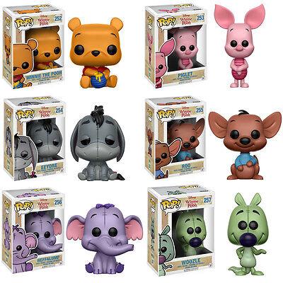 **Winnie the Pooh **iahhh**4 Figuren**neu und unbespielt**Disney