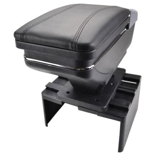 Universal Rotatable Top Car Center Console Storage Box Armrest Arm Rest