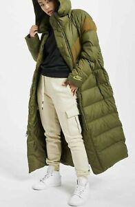 Détails sur Femme Nike Down Fill Long Manteau Parka Taille ML (AH8694 395) Olive Toile Veste afficher le titre d'origine
