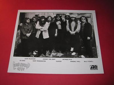 LYNYRD SKYNYRD original 10x8 inch promo press photo photograph 2386-1