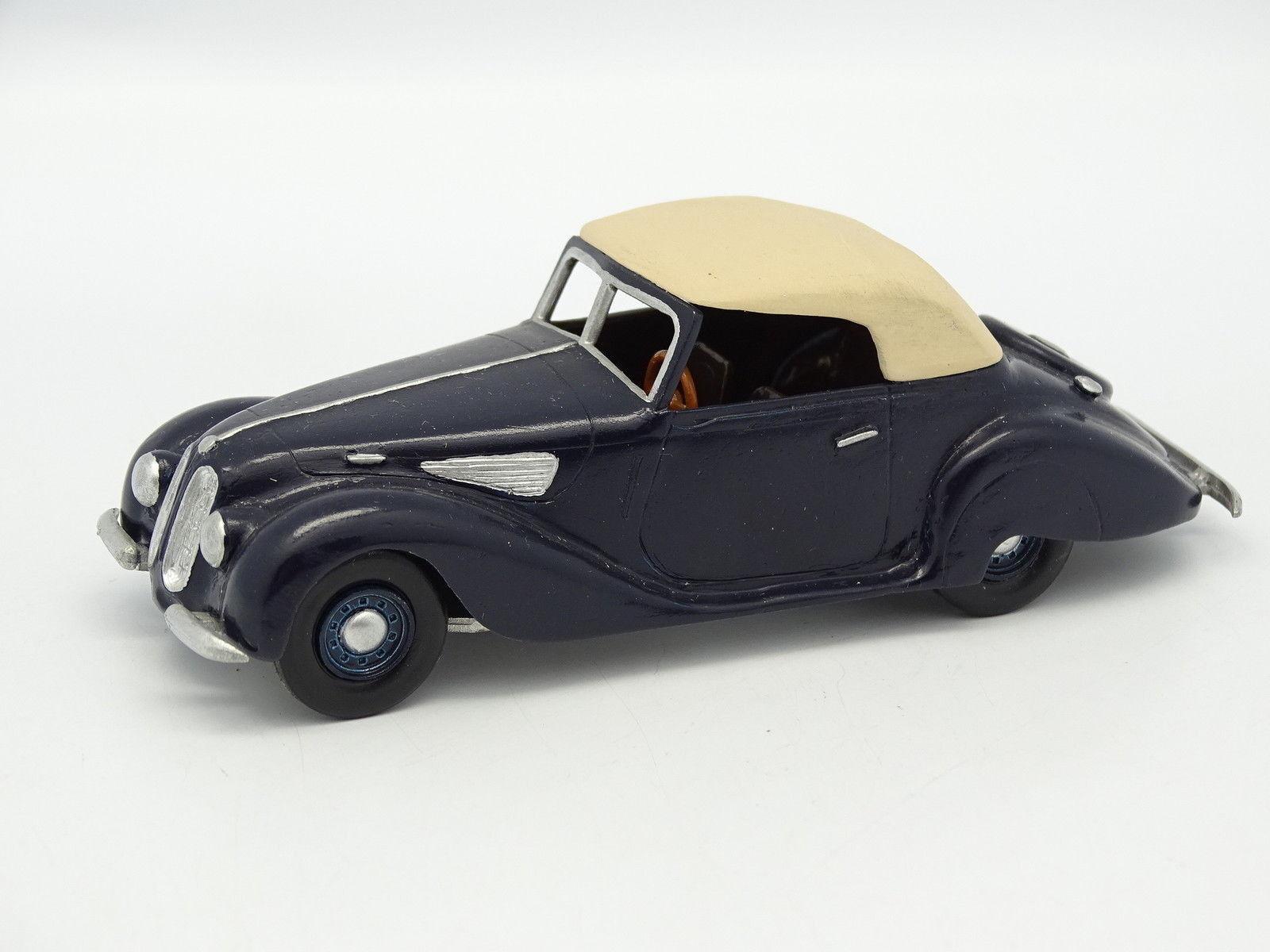 Danhausen Kit Assembled Metal 1 43 - BMW 327 Cabriolet blueee