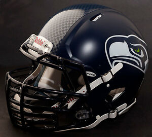 Details About Seattle Seahawks Nfl Riddell Speed Football Helmet W Big Grill S2bdc Ht Lw