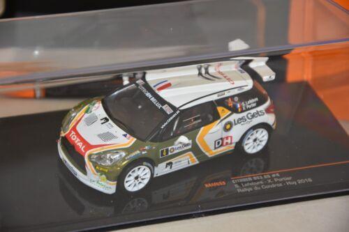 Citroen DS3 R5 Rallye Condroy Hui 2016 Lefebvre  1//43 IXO IXORAM653
