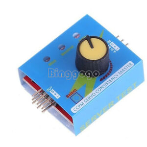 Multi-Servo-Tester-3CH-ECS-Consistency-Speed-Controler-Power-Channels-CCPM