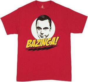 Big Bang Theory /'Bazinga/' T-Shirt-New /& Official!