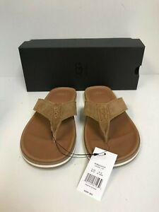 b6e5dbc352e Ugg Men's Beach Flip Flop Chestnut Suede Sandals - New | eBay