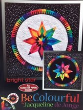 BRIGHT STAR Foundation Paper Piecing Quilt Pattern by Jacqueline de Jorge