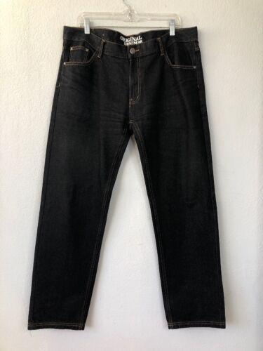 Mens Od R Black d'origine denim 38 en Heavy Jeans Zipper Jeans Jeans Jeans Pants qIYtW