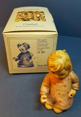 Goebel M I Hummel Figurine One For You One For Me Hum 482 Tmk 6 With Box Ebay