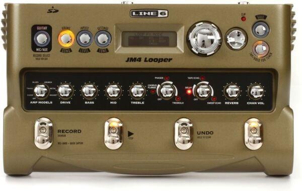line 6 jm4 looper guitar effect pedal for sale online ebay. Black Bedroom Furniture Sets. Home Design Ideas