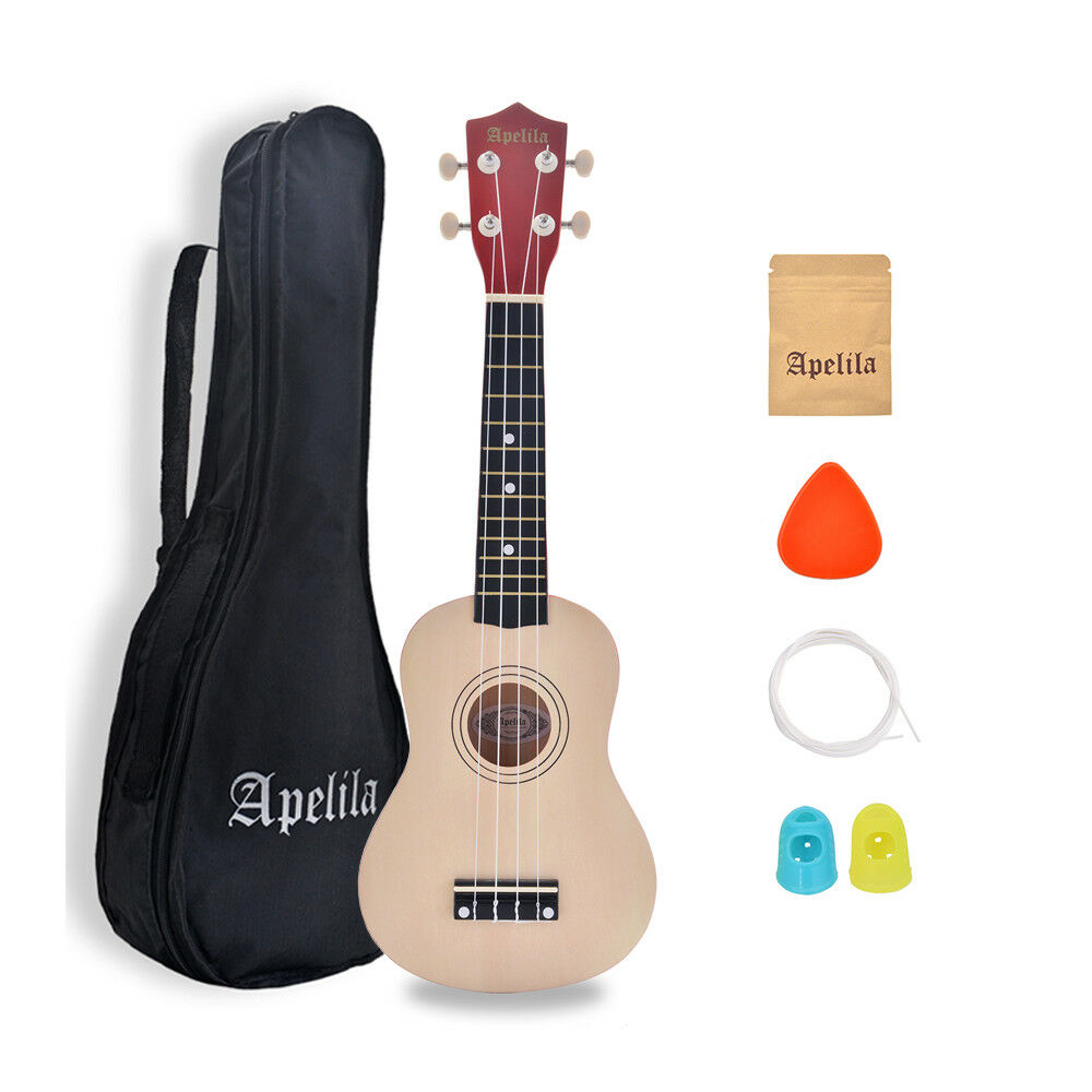 """Professional Ukulele 21/"""" Acoustic Guitar Musical Instrument Wood For kids Adults"""