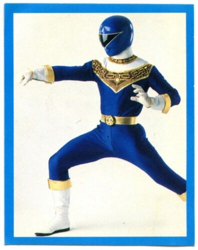 Blue Power Ranger #A6 Power Rangers 1996 Kellogs/'s Frosties Sticker C1378