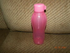 TUPPERWARE SMALL ECO TRAVEL SPORT WATER BOTTLE 16OZ 500ML Pink Delight NEW