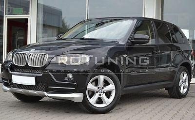 BMW X5 e70 10-13 LCI Aero Performance Package Front Bumper Spoiler aerodynamic