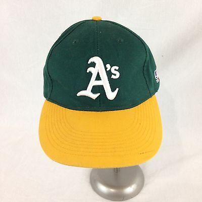 Oakland Athletics A/'s Chevron Stemzone Baseball Hat Cap Hook Loop Co Promo