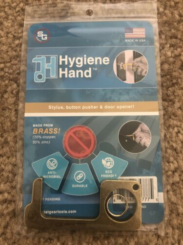hygiene hand Made In USA 70/% Copper And 30/% Zinc With Key Chain By StatGear