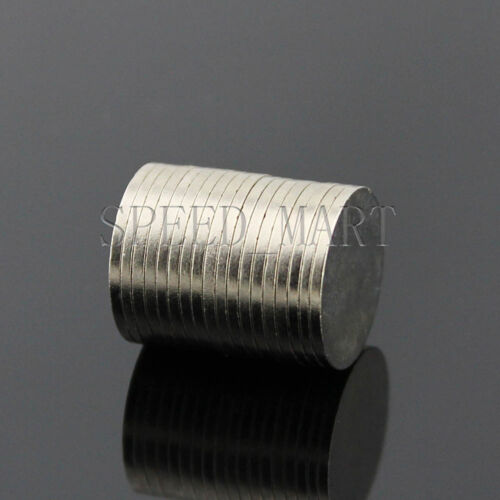 10 pcs 12x1mm N50 Strong Disc Round Rare Earth Neodymium Nd-Fe-B Magnets