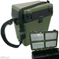 Fishing Seat Box System Ngt With Intergrated Tackle Boxes Carp Sea Fishing