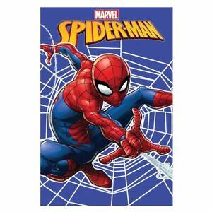 Spiderman-Web-Couverture-Polaire-Doux-Enfants-Chambre-Cadeau-Se-Blottir