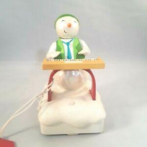 Hallmark-Wireless-Snowman-Band-2010-Keyboard-Ken-Interactive-w-Tags-Plays-Songs