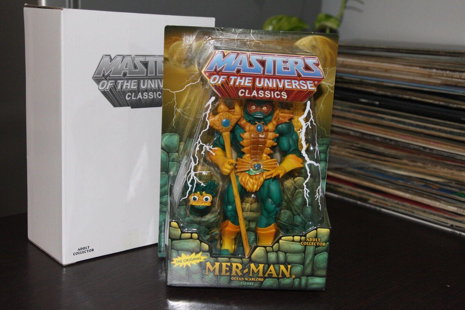 MER MAN motu classics motuc MOC OVP blister Masters Universe 1018