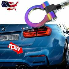 NEO CHROME Sport Racing Style Aluminum Front Rear BUMPER Tow Hook For BMW MINI