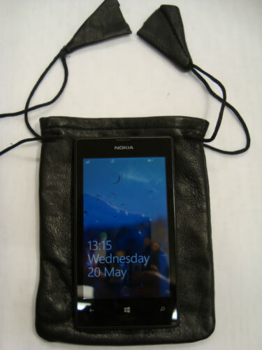 Travel ideal for Change and Phone,Camera Soft Leather Drawstring Pouch for Taxi
