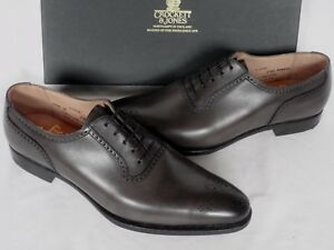Calf Jones Crockett Acton 7 Rrp E Up Uk 5 New Grey Shoes Rare £425 Lace Leather dIaqq5