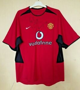 FC-MANCHESTER-UNITED-2002-2004-HOME-FOOTBALL-JERSEY-SOCCER-SHIRT-VINTAGE-SIGNED