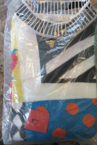 Vintage 1980's Priscilla Sweater Medium  / NOS / A