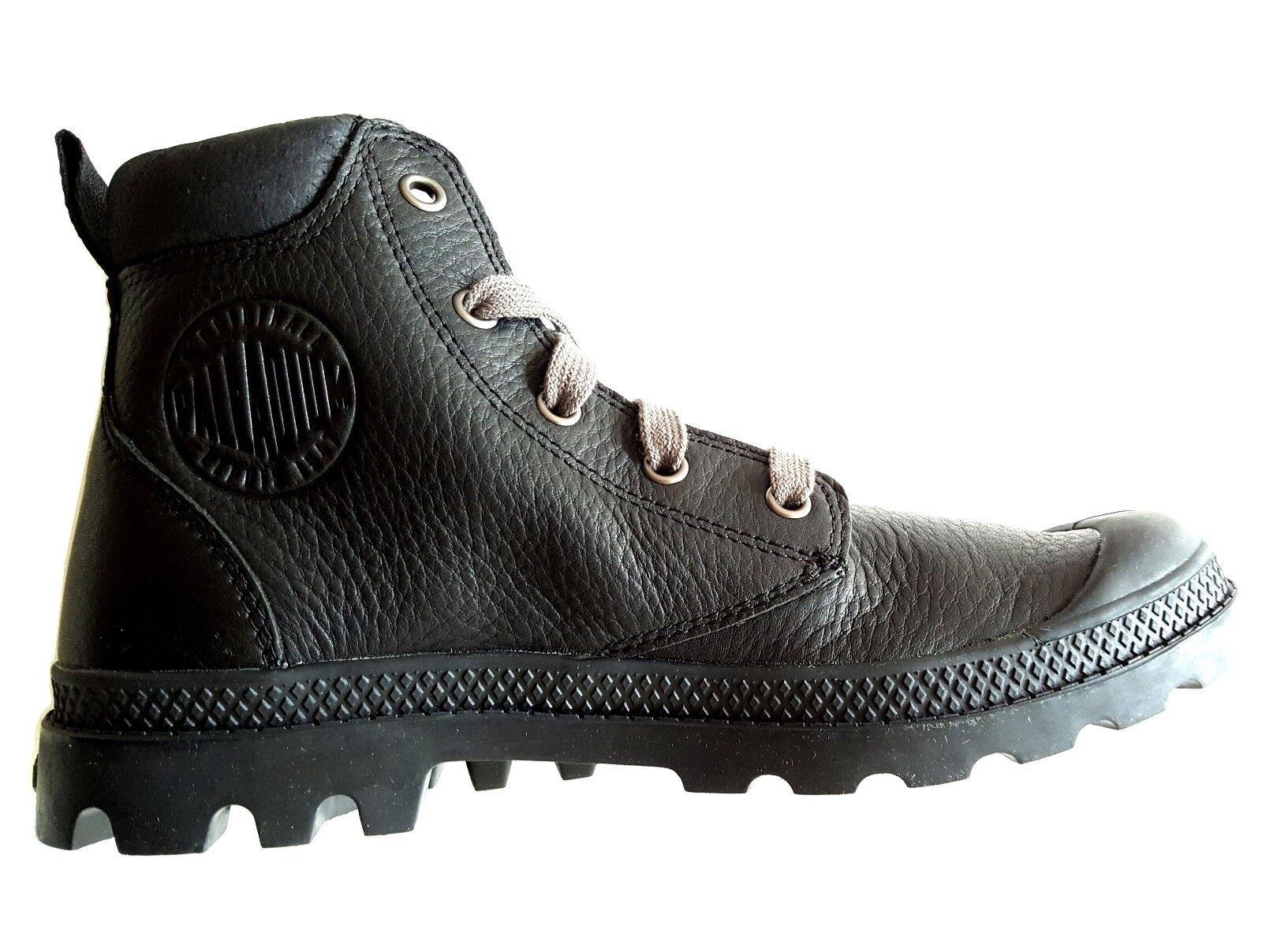 Palladium femmes bottes nulle part chaussures chaussures en Cuir bottes En Cuir bottes noir 37