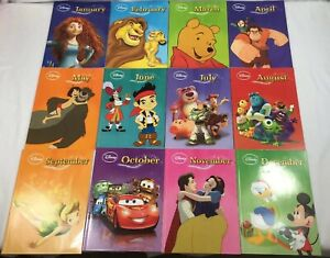 Disney-12-Book-Set-January-To-December-Story-A-Day-Parragon-2013