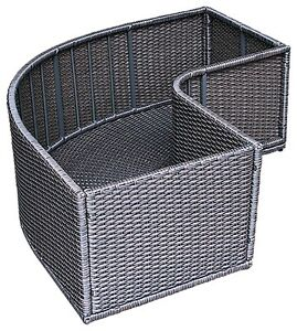 Canadian-Spa-Corner-Planter-Weather-Resistant-Rattan-Square-Surround-Furnture