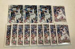 (x53 Lot) Robel Garcia (RC) 2020 Topps #283/Bowman #36 Chicago Cubs Rookie