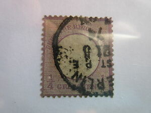 GERMANY Scott 14 XF centering, Michel 16 USED G8 Cat $120