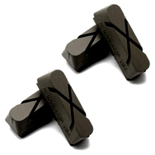 Kool Stop brake pad inserts Weinmann X-Cut Black USA Made KS-WXB set of 4