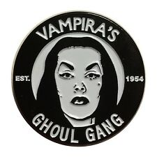 Kreepsville 666 Vampira Ghoul Gang Pin NEW Lapel Enamel Horror Goth Maila Nurmi