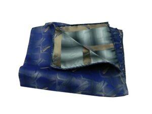 Fazzoletto-di-seta-pochette-uomo-blu-azzurrato-disegni-astratti-beige-azzurri