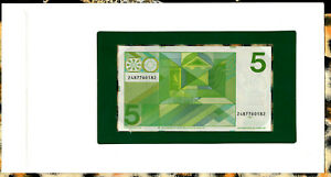 Banknotes of All Nations Netherlands 5 gulden 1973 P 95 UNC 2487*