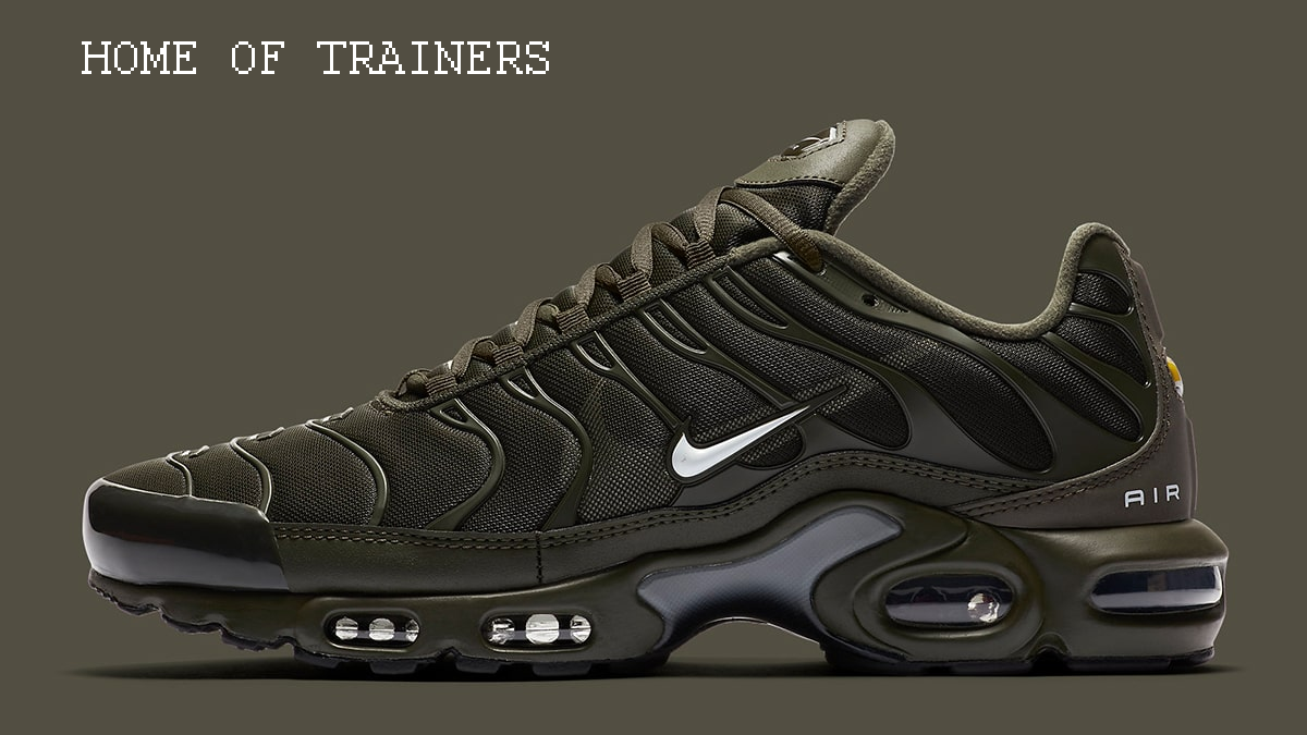 Nike Air Max Plus Olive Green khaki Men's Trainers All Sizes