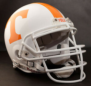 PEYTON-MANNING-TENNESSEE-VOLUNTEERS-Schutt-RJOP-Football-Helmet-FACEMASK-WHITE
