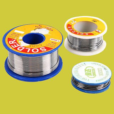 New Dia Rosin Core Solder Flux 2.0% Welding Iron Wire Reel 63/37 60/40 0.8/1mm