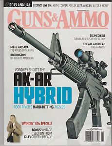 guns ammo magazine 2013 annual buyers guide ak ar hybrid rh ebay com Used Gun Buyers Cool Guns