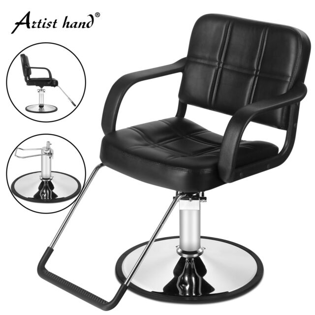 Hydraulic Lift Barber Chair Styling Salon Work Station Beauty Spa Equipment For Sale Online Ebay