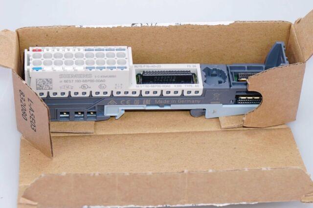 Siemens Simatic et 200SP 6ES7193-6BP00-0DA0 Base-Unit Emballage D'Origine, Neuf