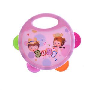 Plastic-Hand-Drum-Musical-Tambourine-Beat-Instrument-Baby-Educational-Toy-SP