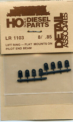 6 HO Detail Associates Model Railroad LR 1102 Lift Ring F Unit Train