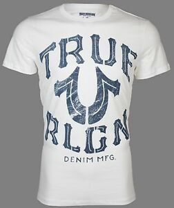 Sale Best Seller Free Shipping Cheap Quality Mens Navy T-Shirt True Religion Sale Original Best Seller Cheap Price New Arrival Online 3Sjbm