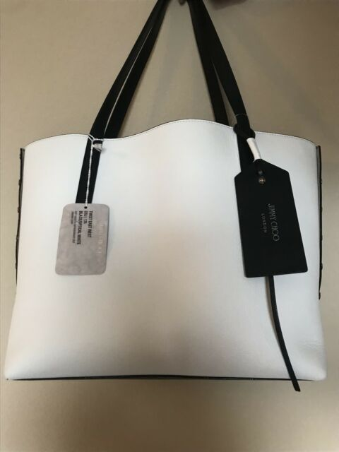 Twist East West Grainy Leather Tote